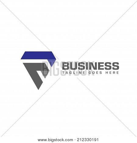elegant and modern letter f logo sport, strong letter F creative logo vector