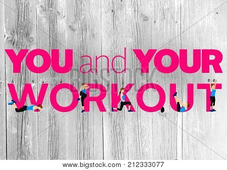 Fitness motivation quote for your better workout and mind