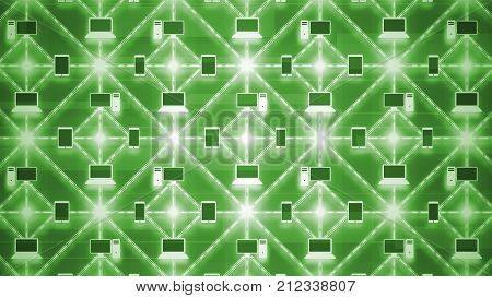 Connected Computer Network Matrix