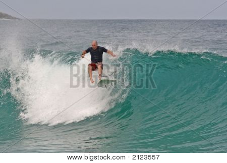 Surfing Wipe Out