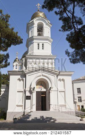 Holy Ascension Church in city of Gelendzhik, Krasnodar Region, Russia