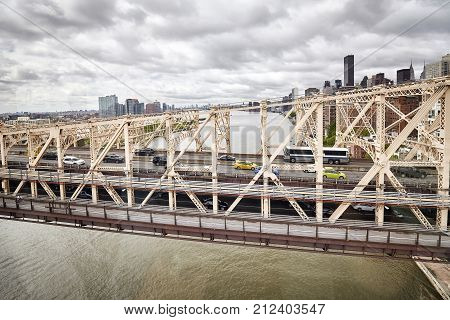 Queensboro Bridge, New York, Usa.