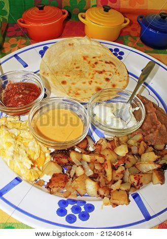 Mexican Breakfast Platter