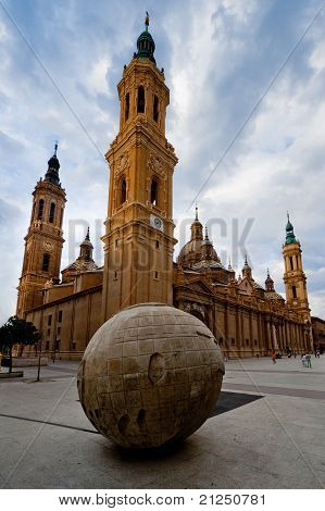 El Pilar Cathedral In Zaragoza, Spain