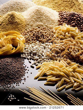 Pasta Cereals And Legumes