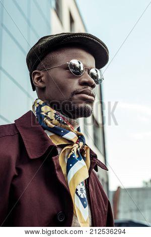 African American Man In Sunglasses