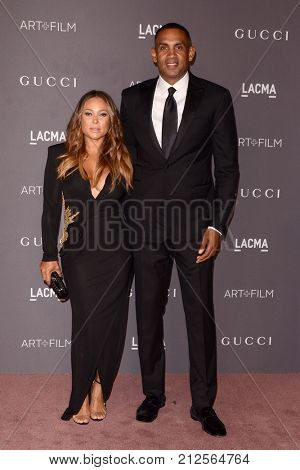 LOS ANGELES - NOV 4:  Tamia Hill, Grant Hill at the LACMA: Art and Film Gala at the Los Angeles County Musem of Art on November 4, 2017 in Los Angeles, CA
