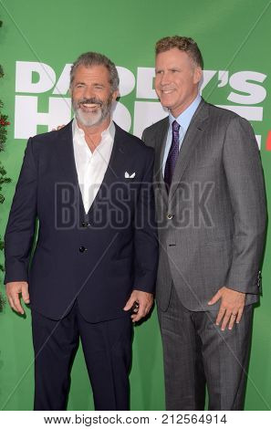 LOS ANGELES - NOV 5:  Mel Gibson, Will Ferrell at the