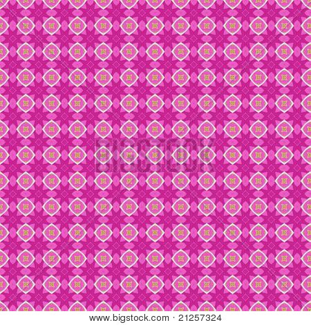 Pink Pattern Fabric Background