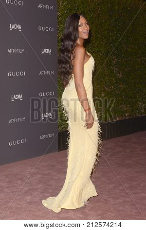 LOS ANGELES - NOV 4:  Naomi Campbell at the LACMA: Art and Film Gala at the Los Angeles County Musem of Art on November 4, 2017 in Los Angeles, CA