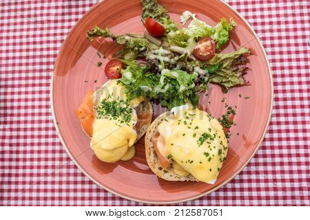 delicious Breakfast Benny Dick Egg