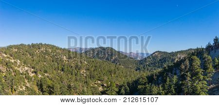 Mountaintops In Southern California