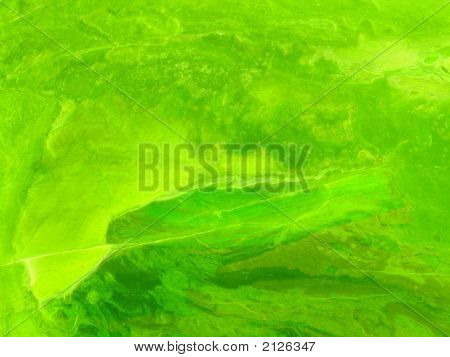 Abstract Grungy Background Series - Psychedelic Green. Aged Paper Texture, Painted, Scratched Wall T