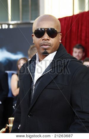LOS ANGELES - MAY 2:  MC Hammer at the premiere of Thor at the El Capitan Theater, Los Angeles, California on May 2, 2011.