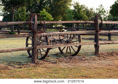 Old Cedar Fence