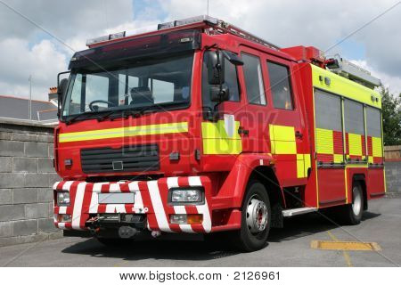 British Fire Engine