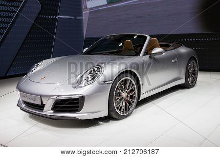 2016 Porsche 911 Carrera S Sports Car