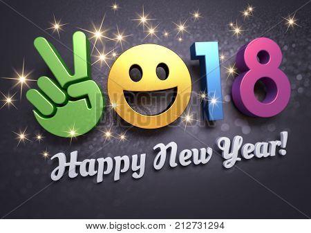 2018 Greeting Card For Fun