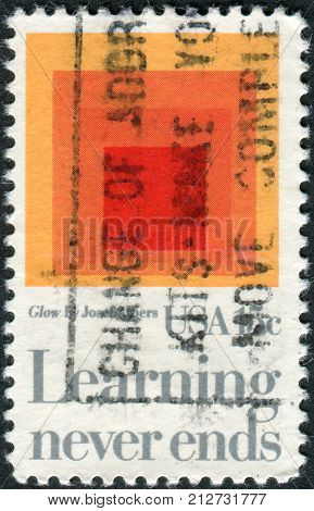 USA - CIRCA 1980: A postage stamp printed in USA shows a picture of the