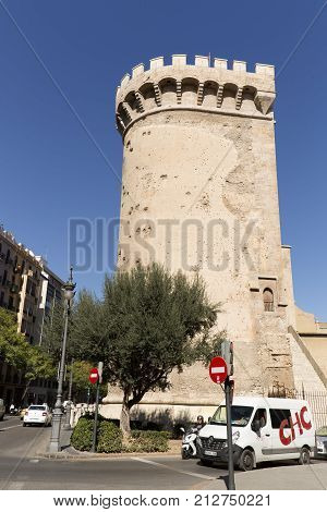 The Quart Towers Fron Valencia