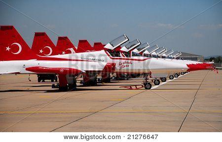 F-5 Turkish Stars