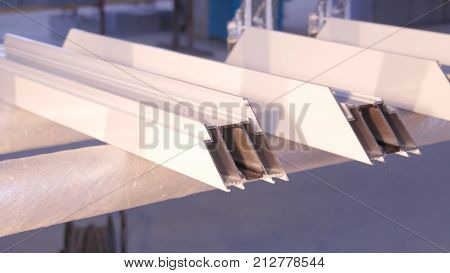Silicone tube for repairing the window indoor. Sealing the window. Using caulking around a new window. Handyman using a caulking gun to caulk a window. Silicone gun on manufacture. Industry HD