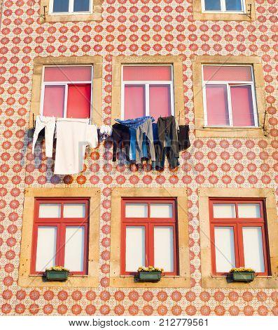 Porto House Wall , Portugal