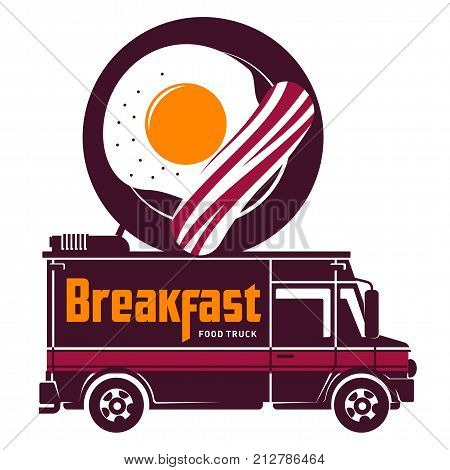 Fast Food Vector Flat Illustration