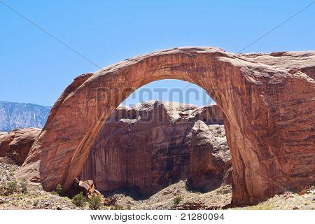 Rainbow Bridge Natural Arch, Lake Powell, Arizona