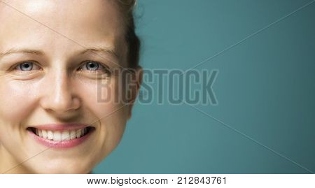 Nice face, natural beauty