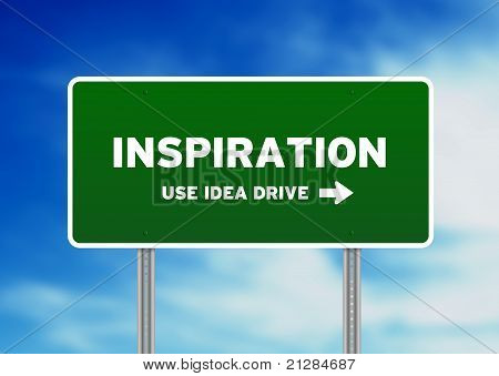Inspiration Street Sign