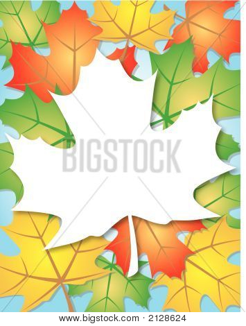 Leaves Background.Ai