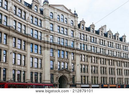 London City, England, architecture - Condor House on The Strand