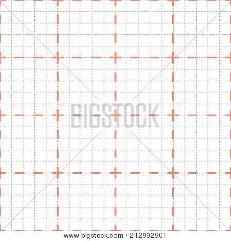 Vector seamless background for cardiogram or oscilloscope.