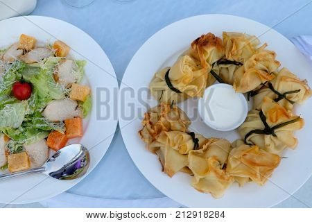 canape for a self service buffet business conference