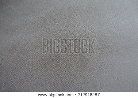 Surface Of Grey Viscose Fabric From Above
