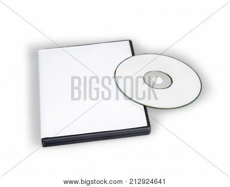 Blank cd or dvd a cd dvd case media blank jewel case