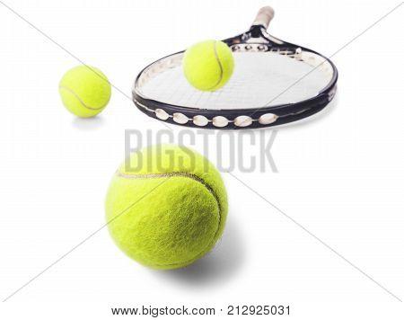Tennis tennis racket sport tennis balls balls sports equipment tennis racquet