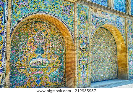 Colors Of Golestan Palace, Tehran