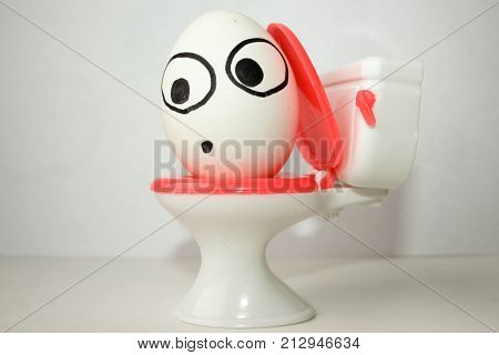 Diarrhea Is Comical. Photo For Your