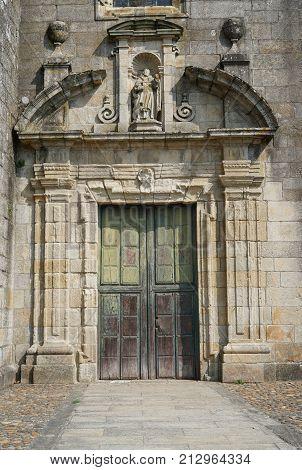 Monastery San Domingos, Tui, Camino de Santiago trail, Spain