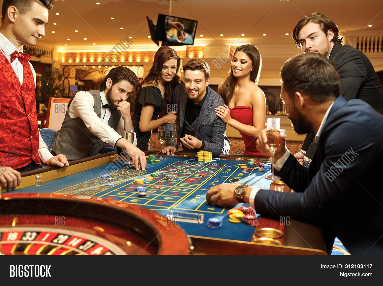 Happy People Gambling Image & Photo (Free Trial) | Bigstock