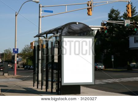 Place Your Ad On A Bus Shelter