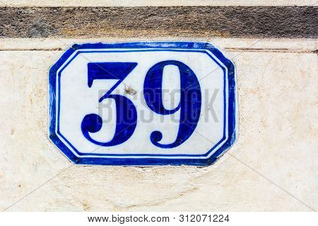 House Number Thirty Nine ( 39 )