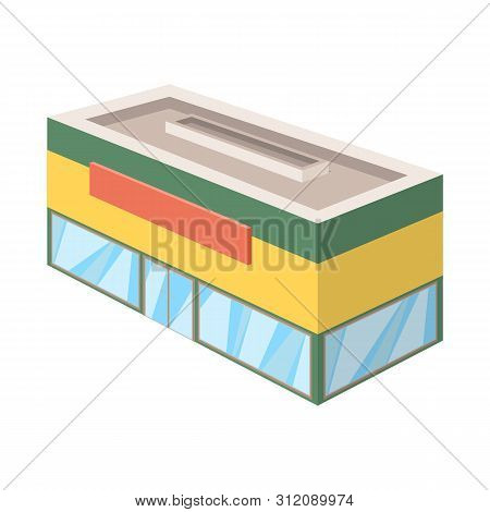 Vector Illustration Of Shop And Antiquarian Icon. Collection Of Shop And Modern Stock Symbol For Web