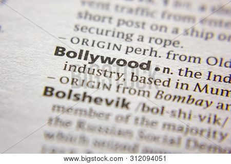 Word Or Phrase Bollywood In A Dictionary
