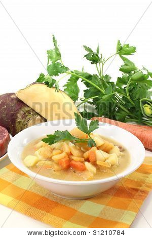 Cooked Swede Stew