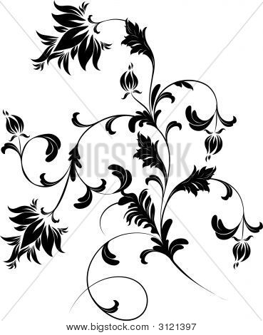 Abstract vector illustration. Suits well for design poster