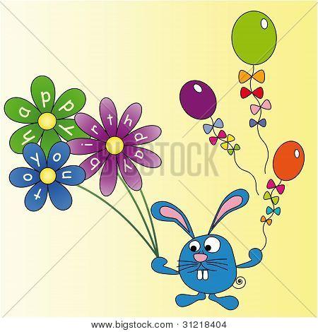 Rabbit Wishes You A Happy Birthday