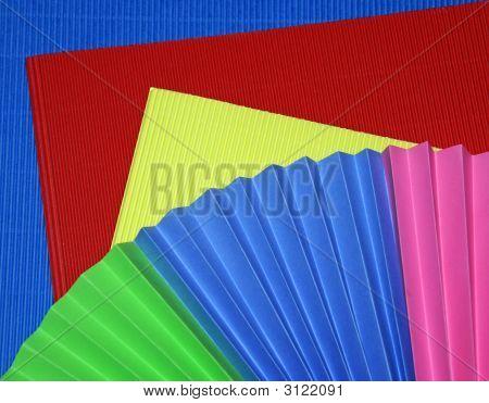Colorful Corrugated Paper